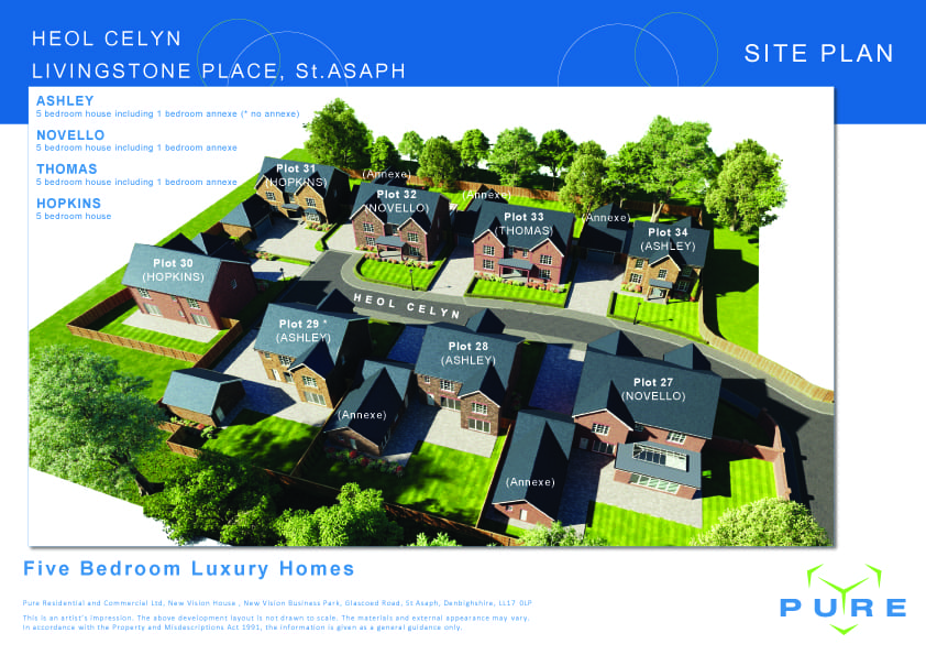 Livingstone Place St Asaph Executive Homes Announced